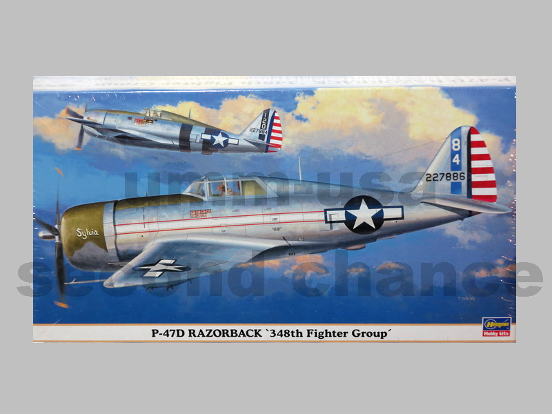 HS-09615 P-47D Razorback 348th Fighter Group (B.14) 1/48