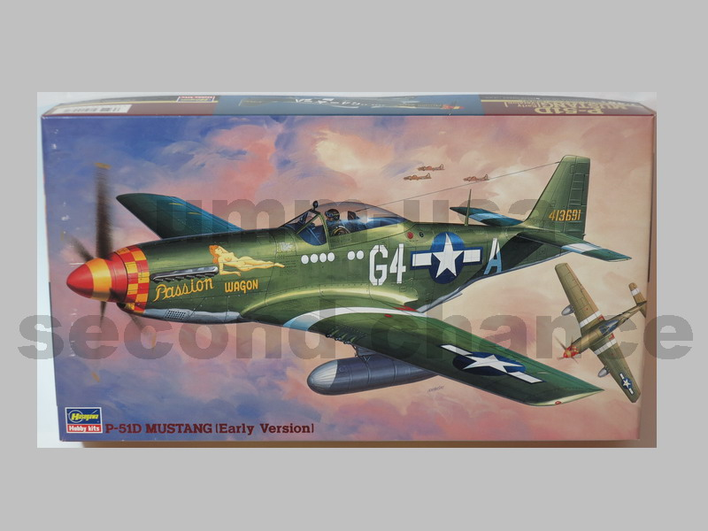 HS-SP58 P-51D Mustang (Early Version) (B.14) 1/48