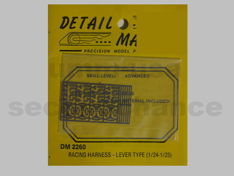 MX-DM2260 Racing Harness DETAIL MASTER 1/24 1/25
