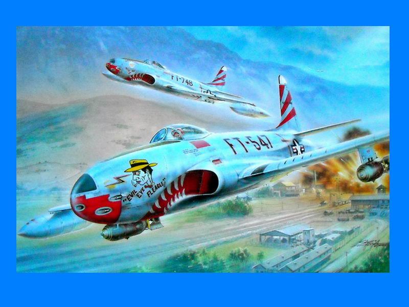 """Special Hobby 100-SH32048-1:32 F-80C /""""over Korea/"""""""
