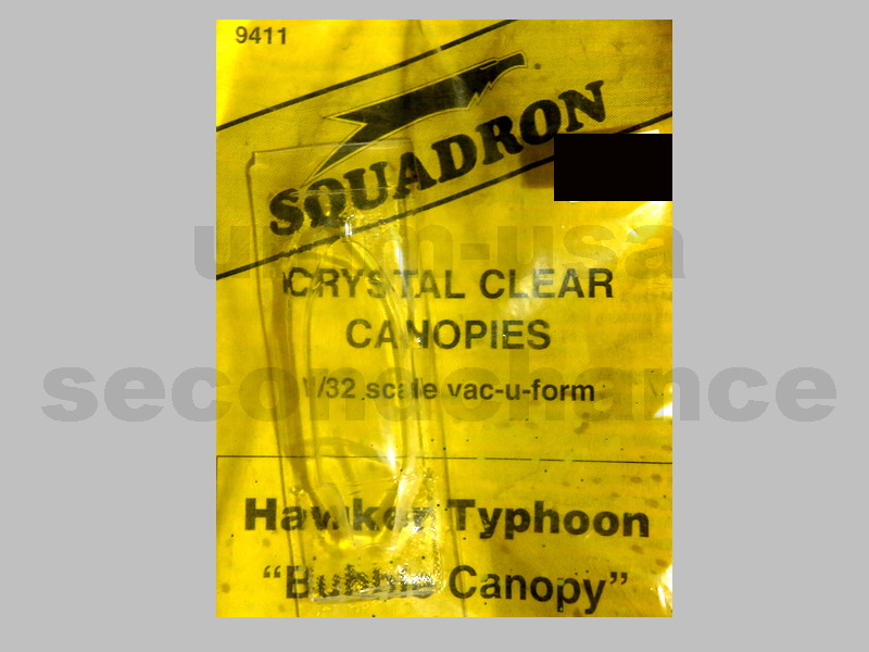 SQ32-9411 Hawker Typhoon Bubble Canopy 1/32