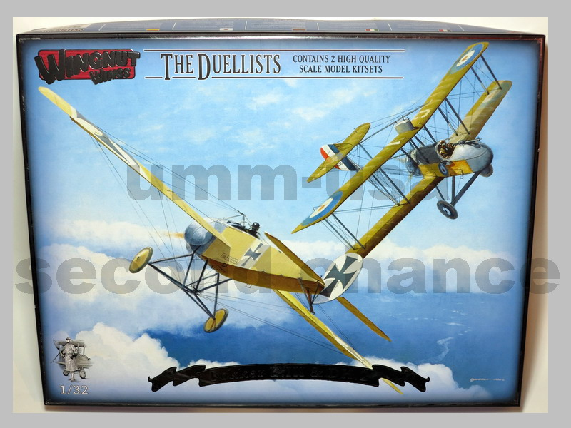 WN-32802 The Duellists - Fokker E.III & DH.2 RARE OOP (B.1) 1/32